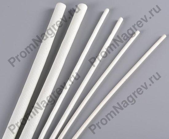 Купить кембрик термостойкий стекловолоконный SV13 белый для высокотемпературного кабеля