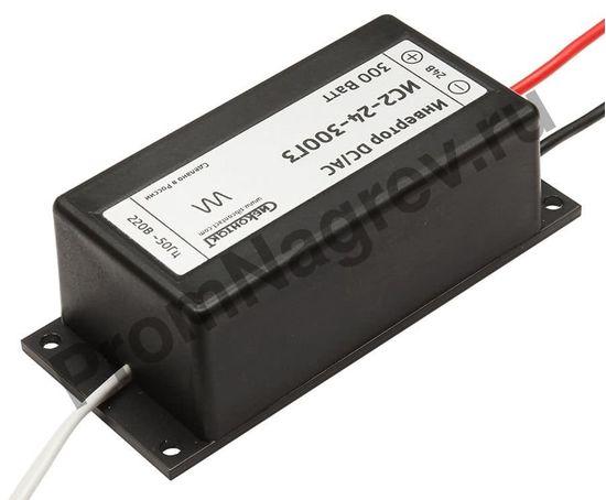 Преобразователь напряжения DC/AC, 24В/220В, 300Вт