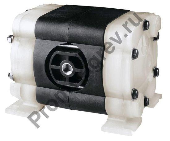Мембранный пневматический насос из полипропилена и тефлона, производительность 16 литров
