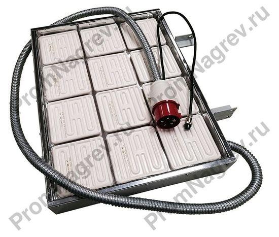 Нагревательная панель для инфракрасной щелевой печи