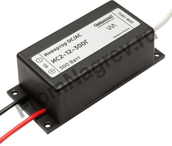 ИС2-12-300Г инвертор, преобразователь напряжения DC/AC, 12В/220В, 300Вт