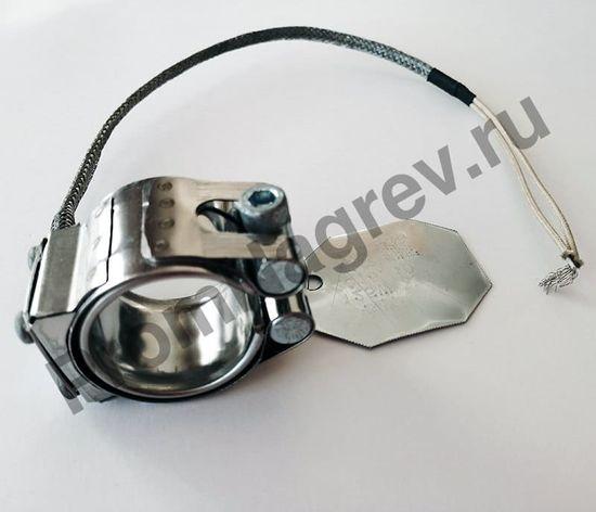 Нагревательный элемент кольцевой миканитовый 32 x 30 мм, 125 Вт/ 230 В, термостойкий провод в метоплетке