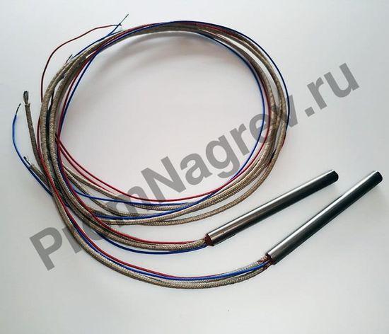 Патронный нагреватель  6,5 x 70 мм, 200 Вт/230 В, провод 500 мм