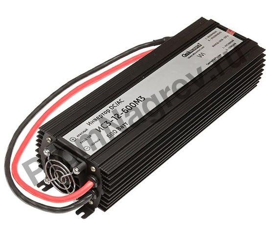 ИС3-12-600М3 инвертор, преобразователь напряжения DC/AC, 12В/220В, 600Вт