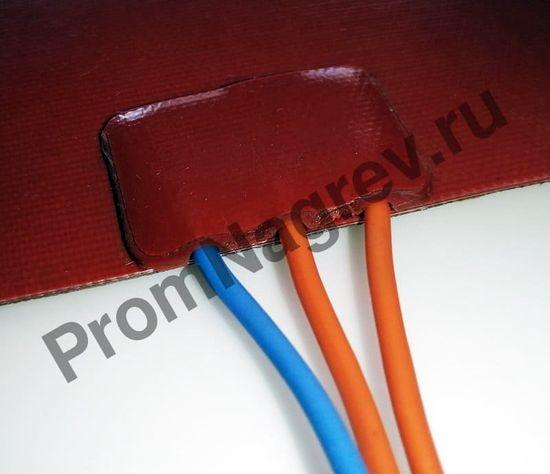 Силиконовая нагревательная пластина 90x200 мм, 200 Вт/230 В