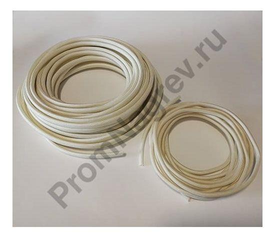 Кембрик для проводов термостойкий стекловолоконный SV13 белый; внутренний диаметр от 1 мм до 20 мм