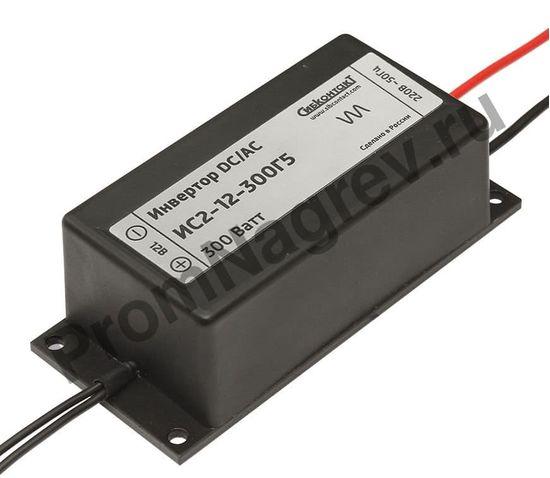 ИС2-12-300Г5 инвертор, преобразователь напряжения DC/AC, 12В/220В, 300Вт