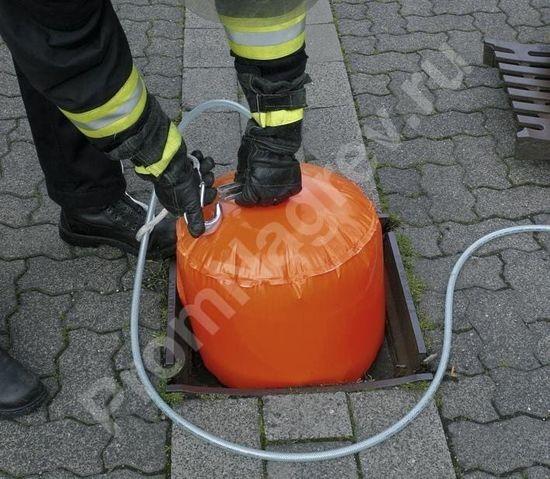 Изолятор сливного люка, наполняется сжатым воздухом, диаметр 40 см