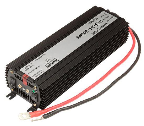 Преобразователь напряжения DC/AC, 24В/220В, 600Вт