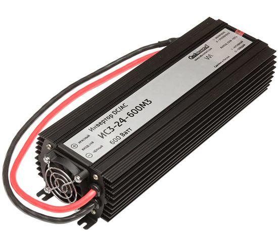 ИС3-24-600М3 инвертор, преобразователь напряжения DC/AC, 24В/220В, 600Вт