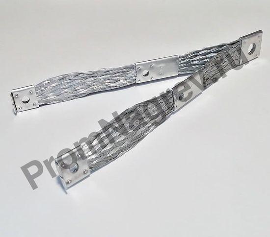 Лента- коннектор для двух карбидокремниевых нагревателей