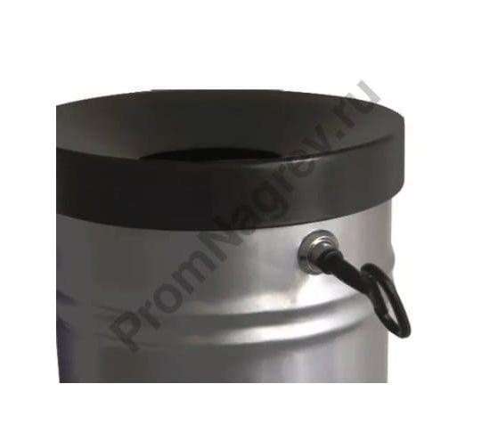 Контейнер для мусора самозатухающий, 16 литров