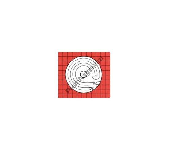 Нагревательный элемент для диффузионных насосов тип 8/022 4/2D с чугунным основанием