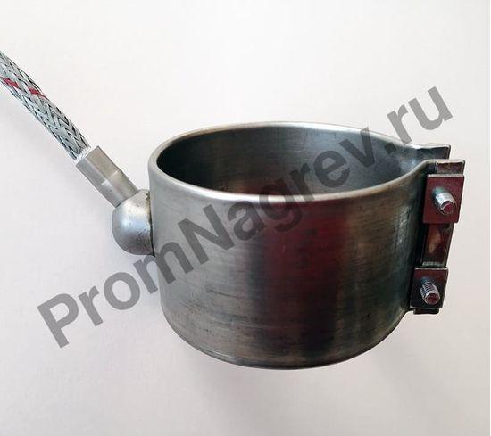Нагреватель сопловый  с корпусом из нержавеющей стали 70 x 48 мм, 400 Вт/ 230 В, и проводом под углом 45 градусов