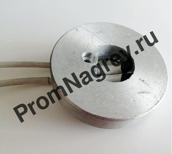 Нагреватель круглый плоский 350 Вт/110 В, внешний диаметр 82 мм