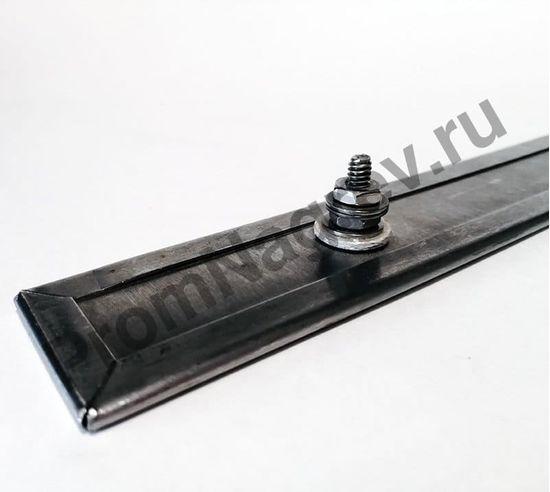 Миканитовый плоский нагреватель в корпусе из нержавеющей стали 32*303 мм, 450 Вт/230 В, шпильки