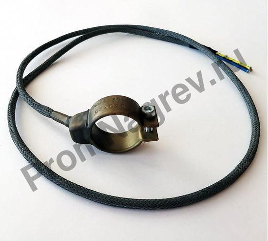 Нагреватель с корпусом из нержавеющей стали 30 x 20 мм, 100 Вт/ 230 В и проводом 1000 мм под углом 45 градусов