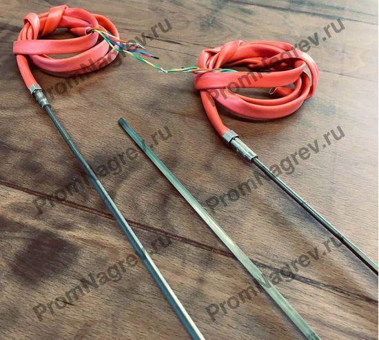 Высокомощный спиральный нагреватель прямой, сечение 2.2 x 4.2 мм, 1100 - 1600 Вт