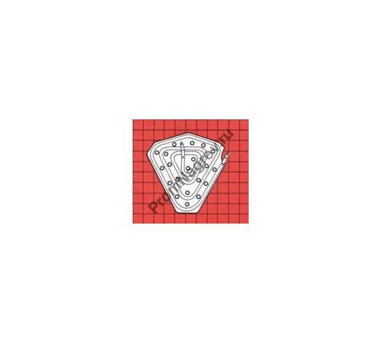 ТЭН для паромасляного диффузионного насоса модель 16/8R в чугунной плите
