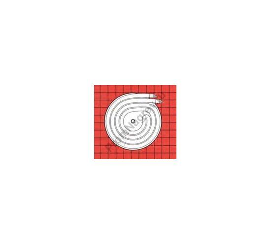 Электронагреватель формы 6/9D в чугунном основании для диффузионных насосов