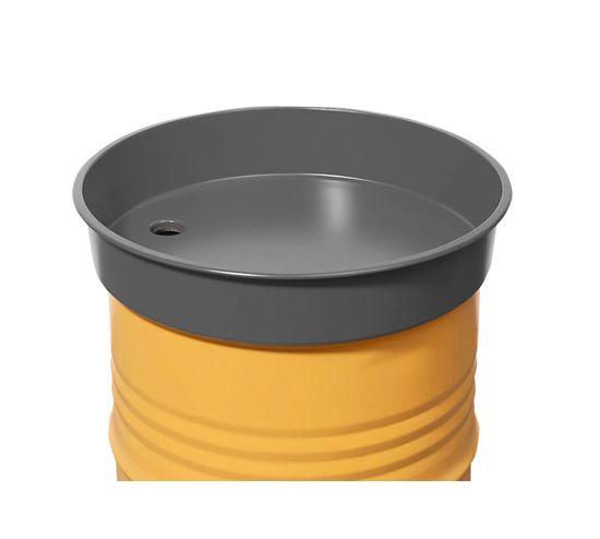 Бочковая заливная воронка из стали, 30 литров