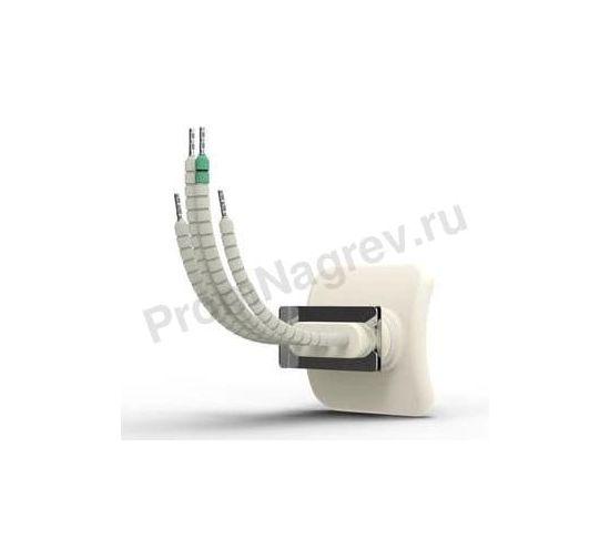 Электрический инфракрасный излучатель керамический QTE 150 Вт и 250 Вт, 60x60x34 мм с термопарой