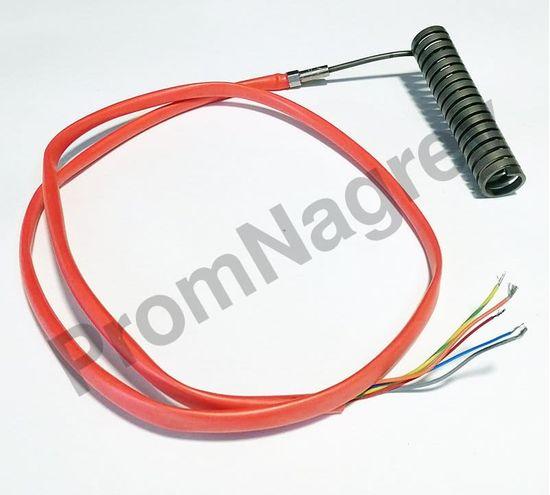 Спиральный ТЭН Hotcoil 2,2*4,2 мм; 230 В/850 Вт; термопара J; навит на диаметр 18 мм, длину 84 мм