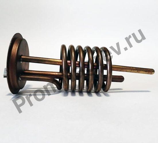 ТЭН трубчатый на фланце 120-6,5, диаметр 6,5 мм, длина 120 мм, 2000 Вт/230 В, клеммы