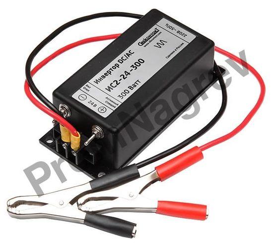 ИС2-24-300 инвертор, преобразователь напряжения DC/AC,24В/220В, 300Вт
