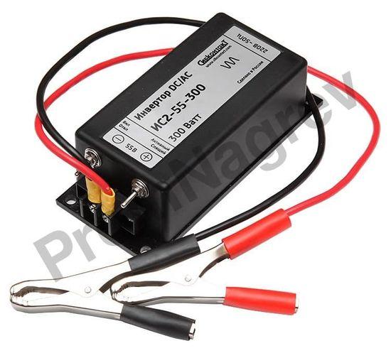 ИС2-55-300 инвертор, преобразователь напряжения DC/AC, 55В/220В, 300Вт