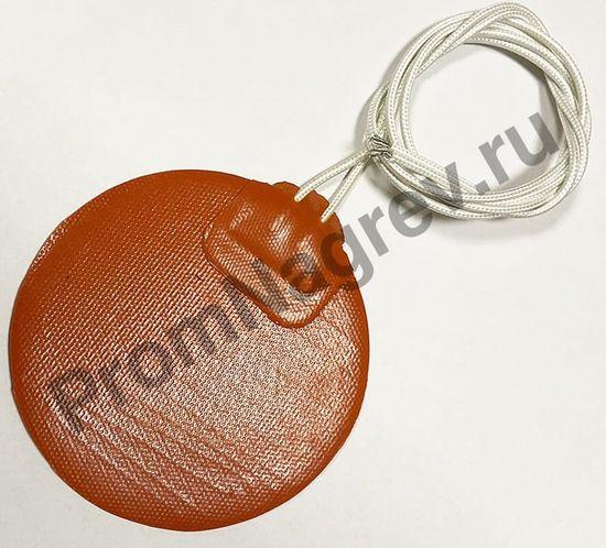 Силиконовый нагреватель круглой формы диаметром 90 мм, 220 В