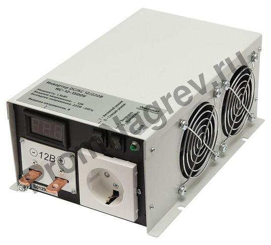 ИС-12-1500У инвертор, преобразователь напряжения DC/AC, 12В/220В, 1500Вт