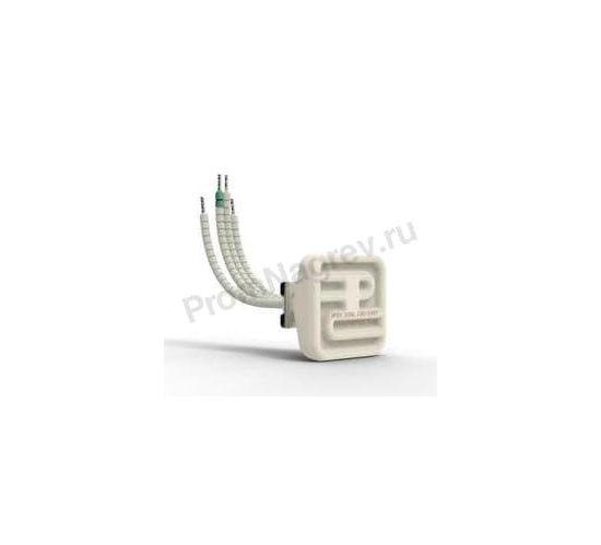 Промышленный инфракрасный нагреватель керамический полый QFEH 125  Вт и 200 Вт, 60x60x37.5 мм с ТП
