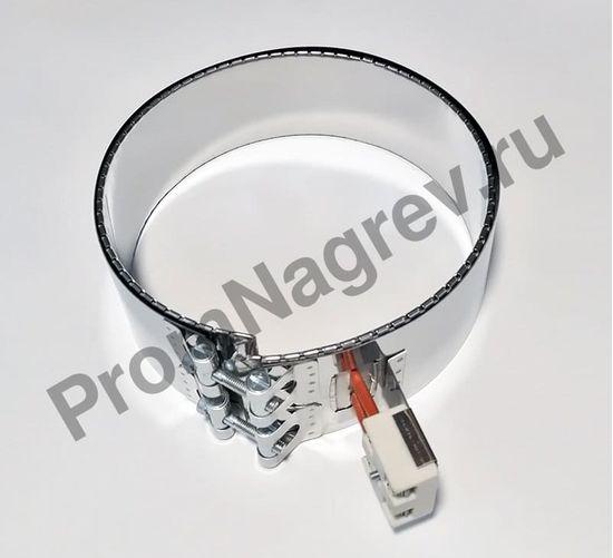 Миканитовый кольцевой нагреватель диаметр 200 мм, ширина 70 мм, 1600 Вт/ 230 В, клеммная колодка на планке