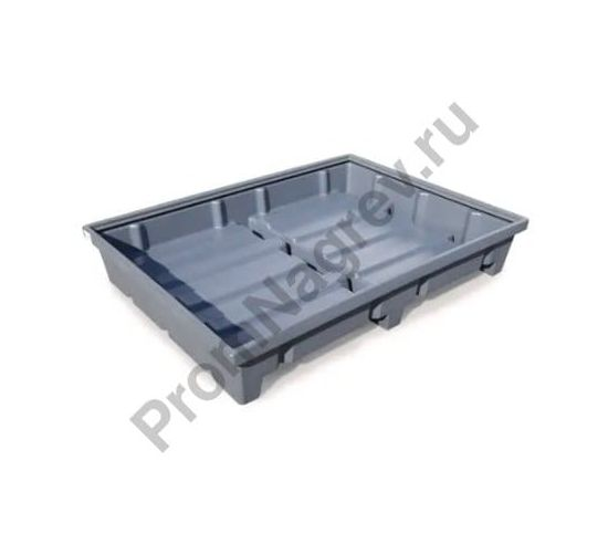 Поддон напольный для стеллажей тип RWP 18.4 из полиэтилена, для стеллажей с шириной полки 1800 мм