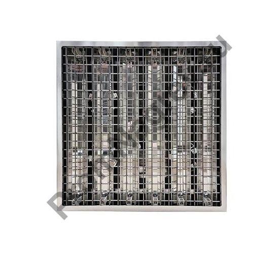 Промышленный кварцевый инфракрасный обогреватель Vulcan 9000 Вт, вид спереди