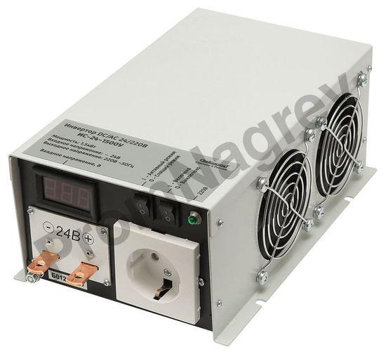 ИС-24-1500У инвертор, преобразователь напряжения DC/AC, 24В/220В, 1500Вт