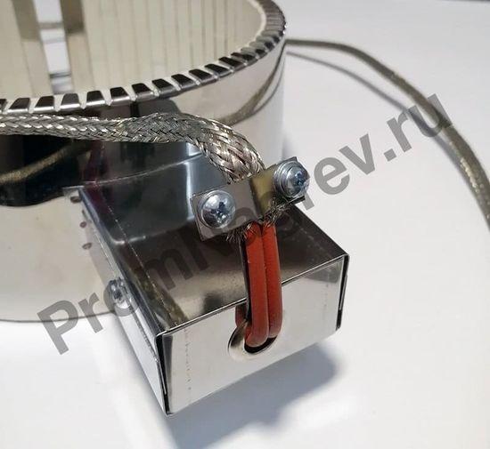 Керамический хомутовый нагреватель посадочный диаметр 180 мм, ширина 90 мм
