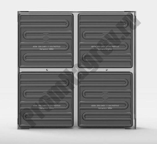 Инфракрасная панель модуль IR 260 из керамических нагревательных элементов