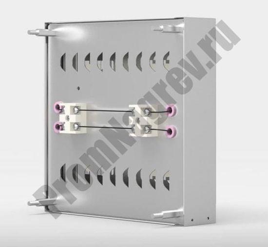 Модуль IR 260 из инфракрасных керамических излучателей  - вид сзади