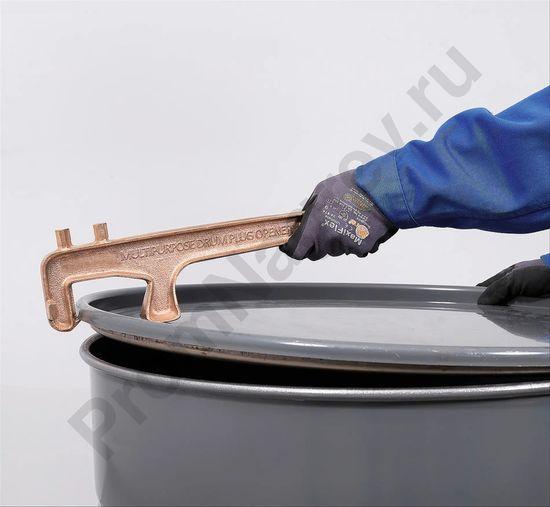Бронзовый цилиндрический ключ для отверстий под пробки и крышки
