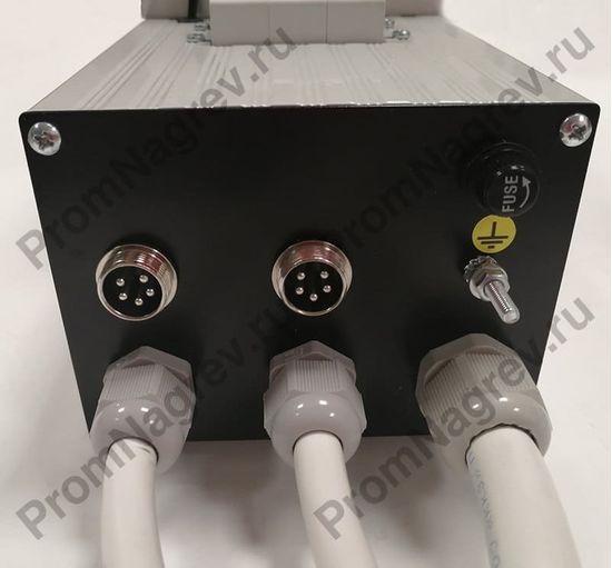 Двухканальный блок управления для инфракрасной щелевой печи, электроподключение