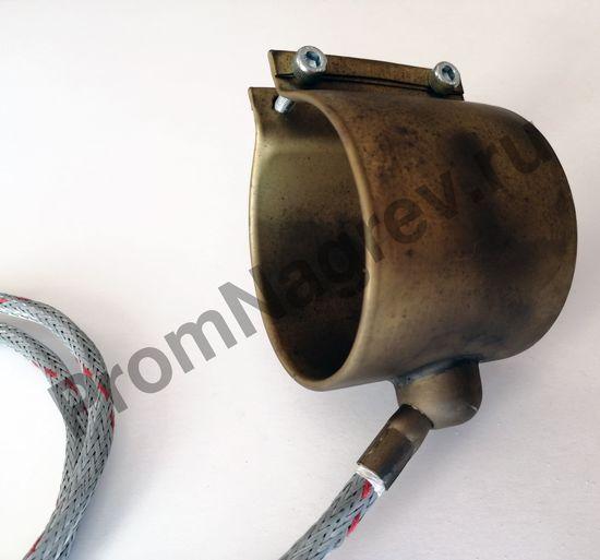 Нагреватель с корпусом из нержавеющей стали 65 x 70 мм, 600 Вт/ 230 В и проводом под углом 45 градусов