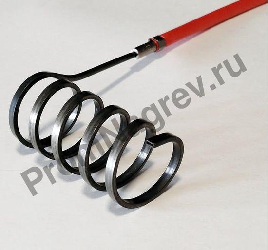 Тэн спиральный Hotcoil сечение 2,2*4,2 мм; 230 В/400 Вт; термопара J; навит на диаметр 30 мм, длину 70 мм