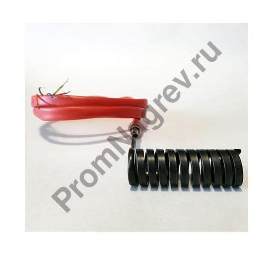 Спиральный нагреватель для нагрева выпускных литников в ГКС