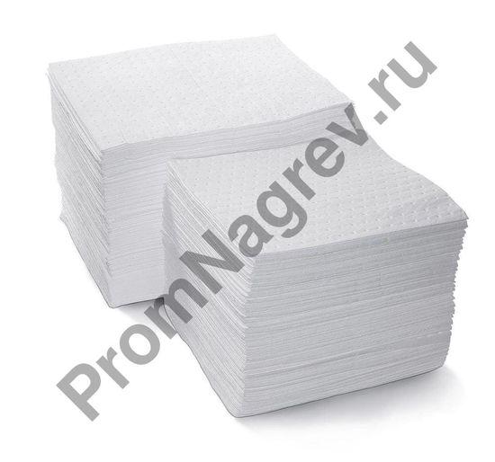 Двести сорбирующих одинарных салфеток, легких, размерами 37 x 40 см.
