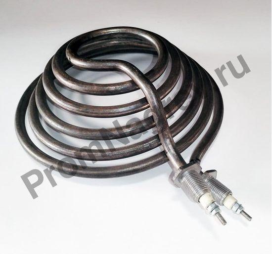 Нагревательный элемент трубчатый А 80-40-10, штуцера М 16*1,5 мм, шпилька М4