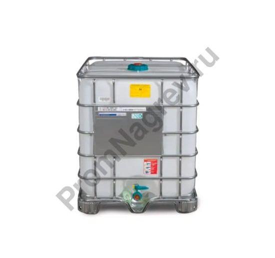 Еврокуб для опасных веществ, во взрывозащищённом исполнении, стальные полозья, 1000 литров, загрузочное отверстие диаметром 150 мм