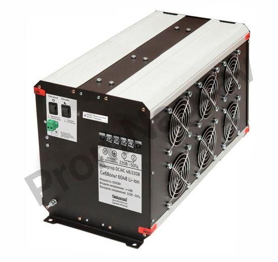 Преобразователь напряжения DC/AC, 48В/220В, 6000Вт