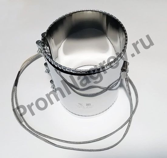 Нагреватель миканитовый 100 x 190 мм, 750 Вт/ 230 В, термостойкий провод в метоплетке на малом коробе